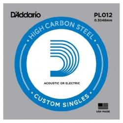 D'Addario PL012 Tek Elektro Gitar Teli (12)