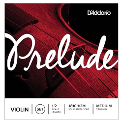 D'Addario Prelude 1/2 Scale Medium Tension Keman Teli