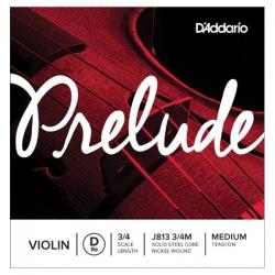 D'Addario Prelude 3/4 Tek Re Keman Teli (Medium Tension)