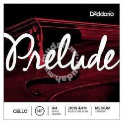 D'Addario Prelude J1010 4/4M Çello Teli