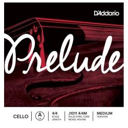 D'Addario Prelude J1011 4/4M Tek Çello Teli A (La)