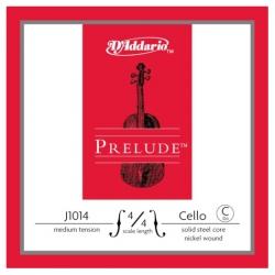 D'Addario Prelude J1014 4/4M Tek Çello Teli C (Do)