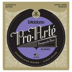 D'Addario Pro-Arte EJ44C Composite Extra Hard Tansiyon Klasik Gitar Teli