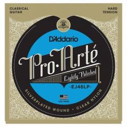 D'Addario Pro-Arte EJ46LP Polished Hard Tansiyon Klasik Gitar Teli