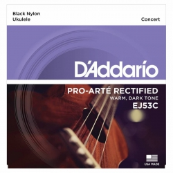 D'Addario Pro-Arte EJ53C Concert Ukulele Teli