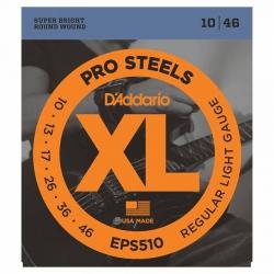 D'Addario Pro Steels EPS510 Elektro Gitar Teli (010-046)