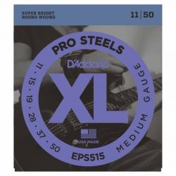 D'Addario Pro Steels EPS515 Elektro Gitar Teli (011-050)