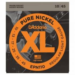 D'Addario Pure Nickel EPN110 Elektro Gitar Teli (010-045)