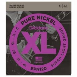D'Addario Pure Nickel EPN120 Elektro Gitar Teli (009-041)