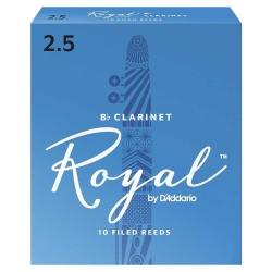 D'Addario Royal RCB1025 Bb Klarnet Kamışı (2,5 Numara)
