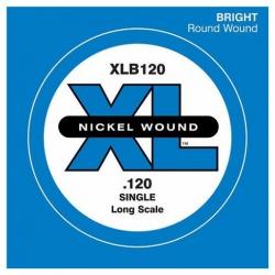 D'Addario XLB120 Tek Bas Gitar Teli (120)