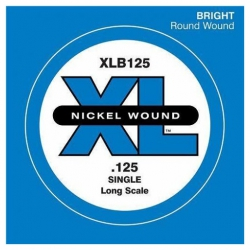 D'Addario XLB125 Tek Bas Gitar Teli (125)