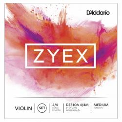 D'Addario Zyex DZ310A 4/4M Keman Teli