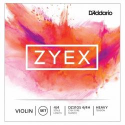 D'Addario Zyex DZ310S 4/4M Keman Teli