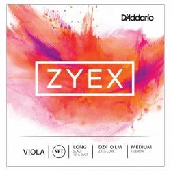 D'Addario Zyex DZ410 LM Viyola Teli
