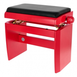 Dexibell Wooden Piyano Taburesi (Kırmızı)