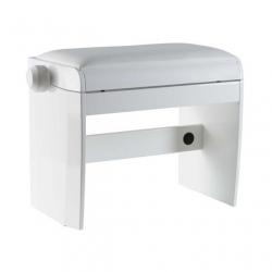 Dexibell Wooden Piyano Taburesi (Mat Beyaz)