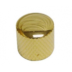 Dr. Parts MNB3/GD Metal Knobs, Gold Potans Başlığı