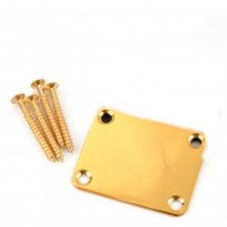Dr Parts NP1/GD  Neck Attachment Plate (Gold)