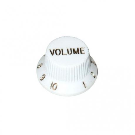 Dr Parts Plastic Volume Knob (Beyaz)<br>Fotoğraf: 1/1