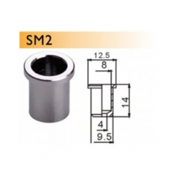 Dr. Parts SM2/CR String Mounting Ferrules (Krom)