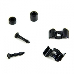 Dr. Parts SR1/BK Guitar String Retainers (Siyah)