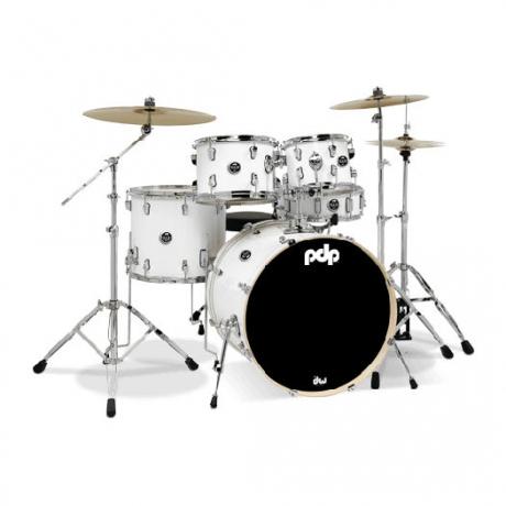 Dw Drums 5 Parça Davul Seti (Beyaz)<br>Fotoğraf: 1/1