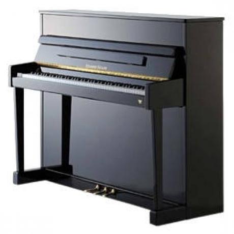 Eduard Seiler Model 116 Solist Akustik Duvar Piyanosu (Parlak Siyah)<br>Fotoğraf: 1/1
