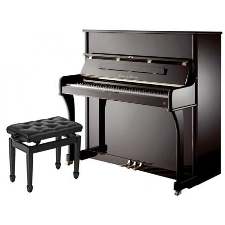 Eduard Seiler Model 126 Elegance Akustik Duvar Piyanosu (Parlak Siyah)<br>Fotoğraf: 1/1