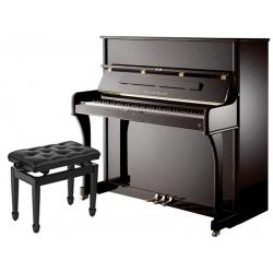 Eduard Seiler Model 126 Elegance Akustik Duvar Piyanosu (Parlak Siyah)