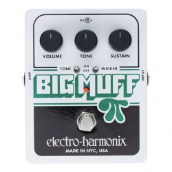EHX Big Muff Pi w. Tone Wicker Pedal