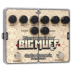 EHX Germanium 4 Big Muff Pi Overdrive ve Distortion Pedalı