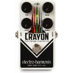 Electro Harmonix Crayon Full Range Overdrive Pedalı