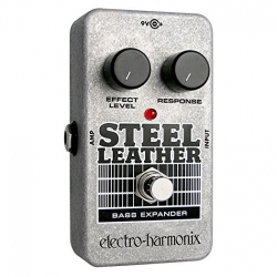 Electro Harmonix Steel Leather Bass Expander Pedalı