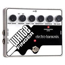Electro Harmonix White Finger XO Analog Optical Compressor Pedal