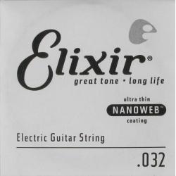 Elixir 032 Nanoweb Tek Elektro Gitar Teli (32)