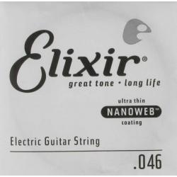 Elixir 046 Nanoweb Tek Elektro Gitar Teli (46)