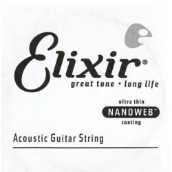 Elixir 15123 Nanoweb Bronze Tek Akustik Gitar Teli (23)