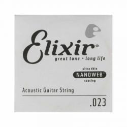 Elixir Nanoweb Bronze Tek Akustik Gitar Teli (23)