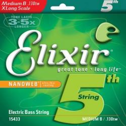 Elixir Nanoweb Tek Bas Gitar Teli (130)