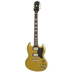 Epiphone 1961 G-400 Pro Elektro Gitar (Metallic Gold)