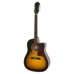 Epiphone AJ-210CE Elektro akustik Gitar (Vintage Sunburst)