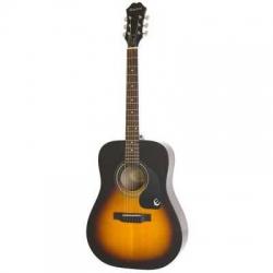 Epiphone AJ-220S Solid Top Akustik Gitar (Vintage Sunburst)