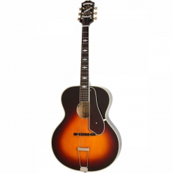 Epiphone De Luxe Hollow-Body Vintage Burst Elektro Gitar