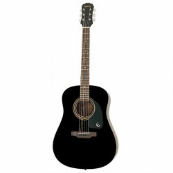 Epiphone DR-100 Akustik Gitar (Ebony)