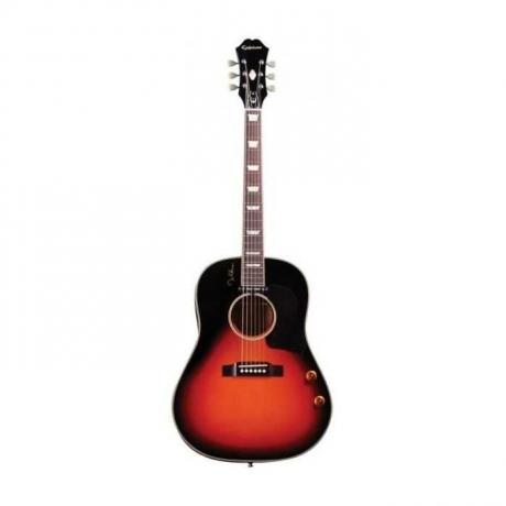 Epiphone EJ-160 John Lennon Signature Elektro Akustik Gitar (Vintage Cherry Sunburst)<br>Fotoğraf: 1/1