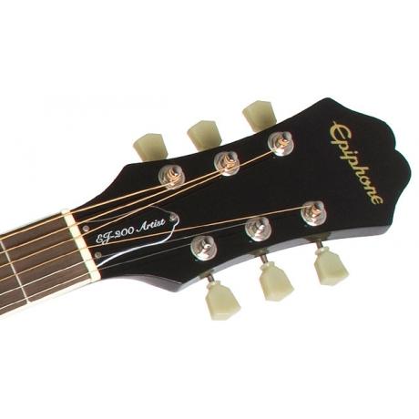 Epiphone EJ-200 Artist Akustik Gitar (Ebony)<br>Fotoğraf: 3/3