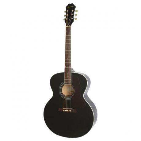Epiphone EJ-200 Artist Akustik Gitar (Ebony)<br>Fotoğraf: 1/3
