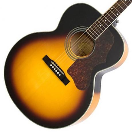 Epiphone EJ-200 Artist Akustik Gitar (Vintage Sunburst)<br>Fotoğraf: 2/2