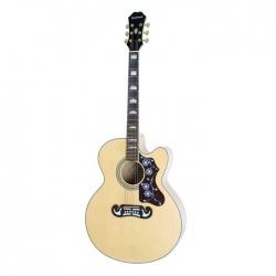 Epiphone EJ-200 CE Gold Elektro Akustik Gitar (Natural)